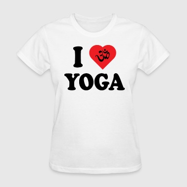 I Love Yoga - Women's T-Shirt