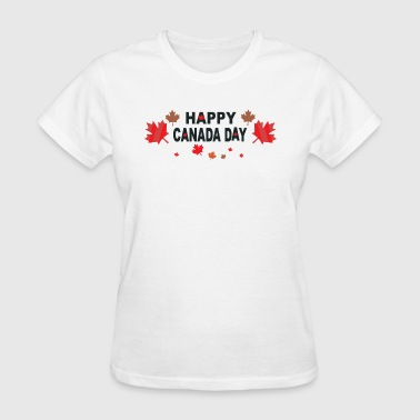 Happy Canada Day - Women's T-Shirt