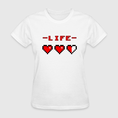 life bar retro games - Women's T-Shirt