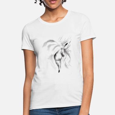 d52ad904 Horse Head White Horse Head - Women's T-Shirt