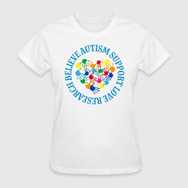 Autism Spectrum Awareness Support - Women's T-Shirt