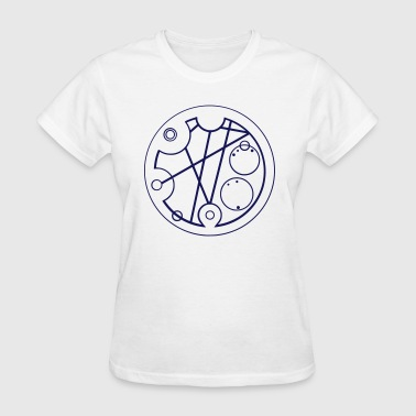 Hello Sweetie (gallifreyan) - Women's T-Shirt