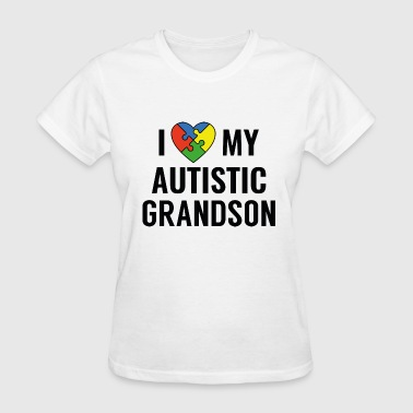 I Love My Grandson - Women's T-Shirt