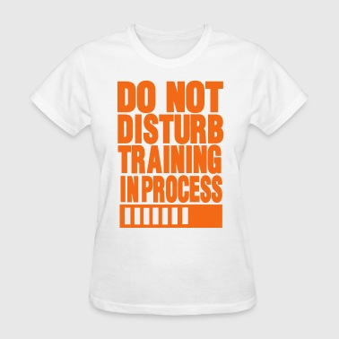 Do Not Disturb Training In Process DO NOT DISTURB TRAINING IN PROCESS - Women's T-Shirt