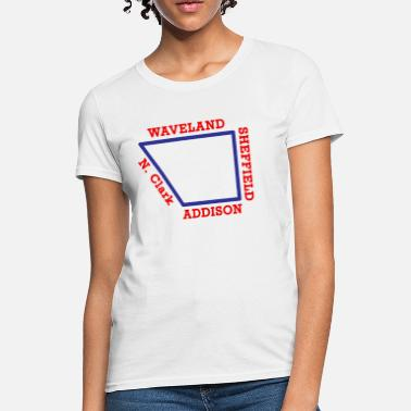 Chicago Apparel Chicago NorthSIde Streets - Women's T-Shirt