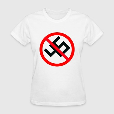 anti nazi - Women's T-Shirt