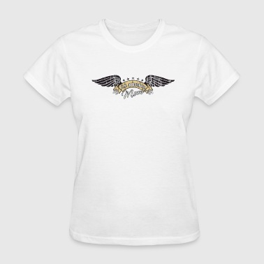 Wing Mom Air Force Mom Winged Insignia - Women's T-Shirt