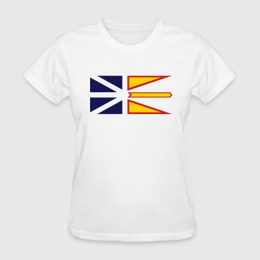 Flag of Newfoundland and Labrador, Canada. - Women's T-Shirt