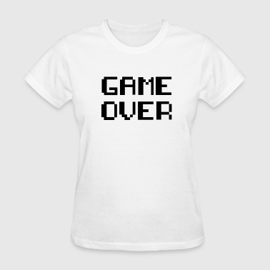 Game Over Retro Game - Women's T-Shirt