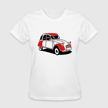 2cv citroen - Women's T-Shirt