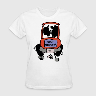 Just Married - Women's T-Shirt