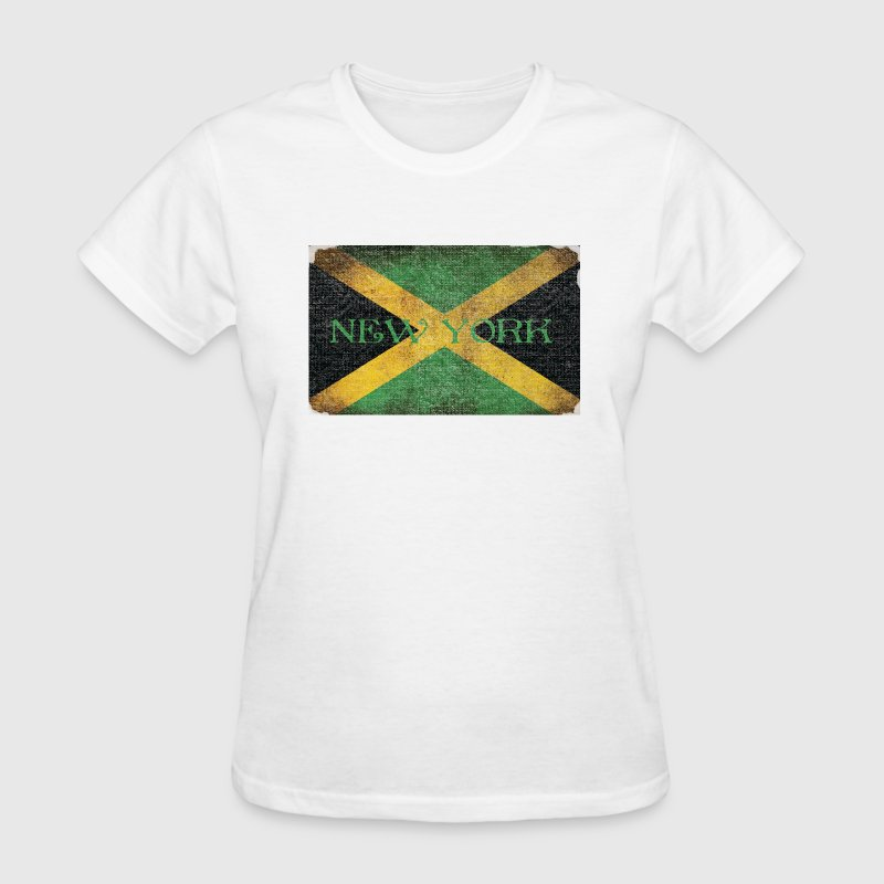 New York Jamaican Flag - Women's T-Shirt