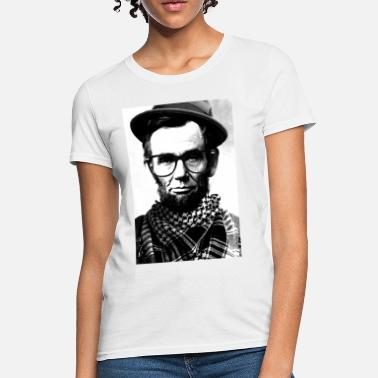 Fashion Hipster Lincoln - Women's T-Shirt