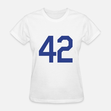 Jackie Robinson 42 Design - Women's T-Shirt