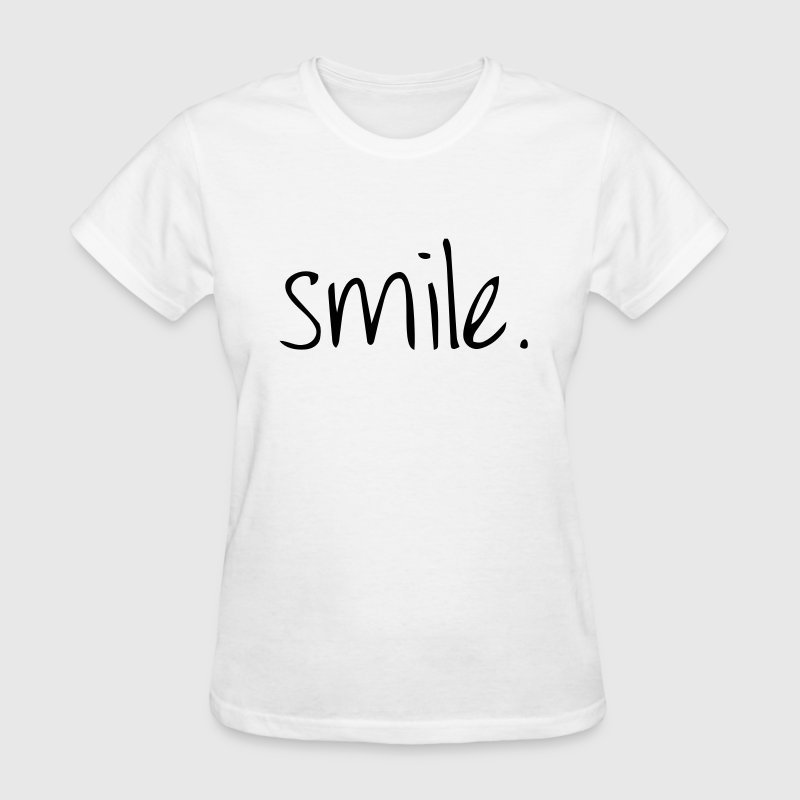 SMILE. - Women's T-Shirt