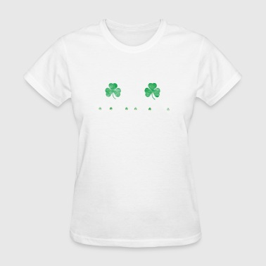 St Patricks Day Boston Boston St. Patrick's Day Irish Shamrock - Women's T-Shirt