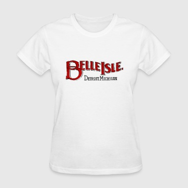 Old Belle Isle Detroit Michigan - Women's T-Shirt