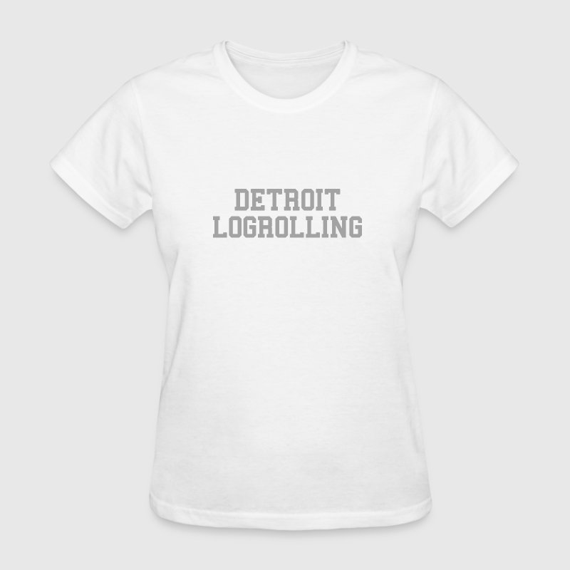Detroit Log Rolling - Women's T-Shirt