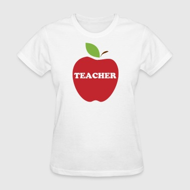 Red Apple Teacher - Women's T-Shirt