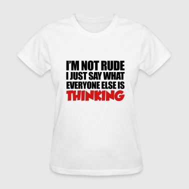 Rude - Women's T-Shirt