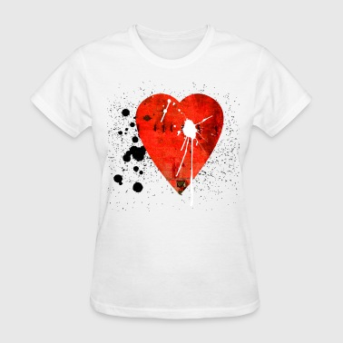 Underground Art Design graffiti_heart_2 - Women's T-Shirt