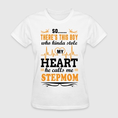 There's This Boy Who Stole My Heart He Calls Me S - Women's T-Shirt