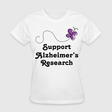 Alzheimers Support Cute - Women's T-Shirt