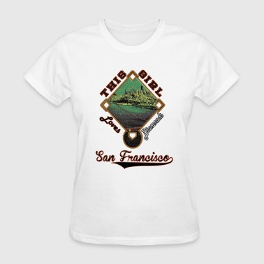 San Francisco Baseball - Women's T-Shirt