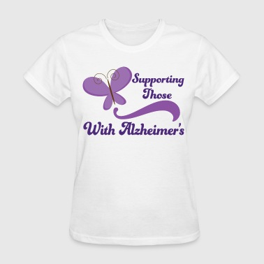 Alzheimers Support Pretty - Women's T-Shirt