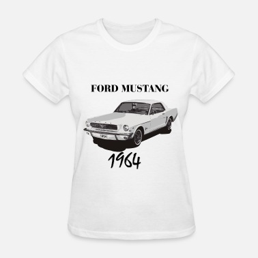 Ford Falcon Ford Mustang 1964 - Women's T-Shirt