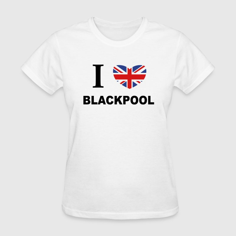 I Love Blackpool - Women's T-Shirt