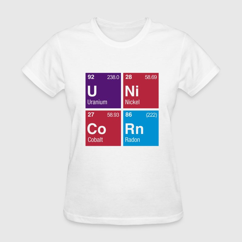 UNiCoRn Periodic Table - Women's T-Shirt