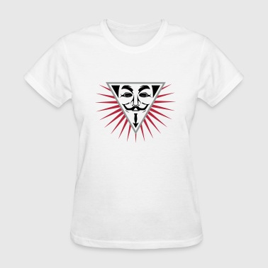 Anonymous NWO logo 3c - Women's T-Shirt