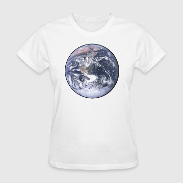Planet Earth Earth - Planet - The World - Mother Earth - Women's T-Shirt