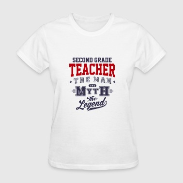 Second Grade Teacher Legend - Women's T-Shirt