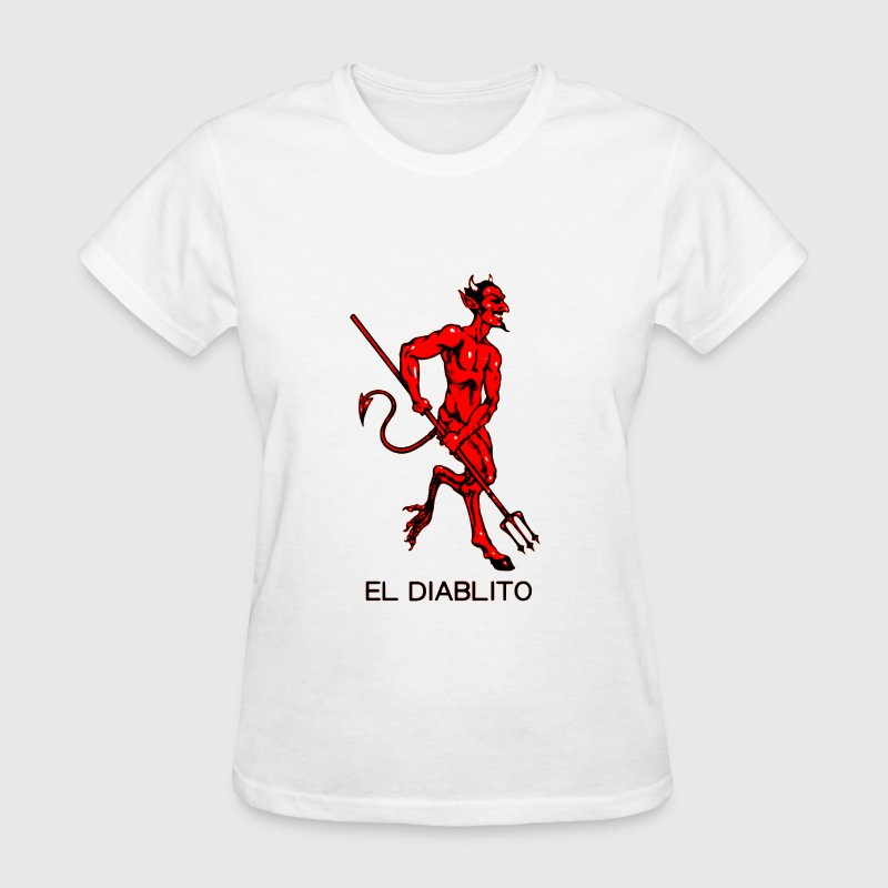 El Diablito The Devil Tarot Cards Readings - Women's T-Shirt