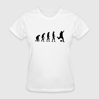 Zinedine Zidane Evolved to play Soccer - Women's T-Shirt