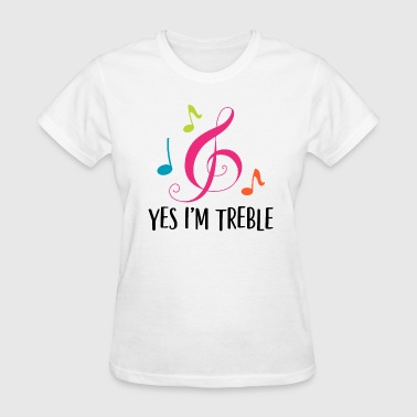 Music Choir Band Treble - Women's T-Shirt