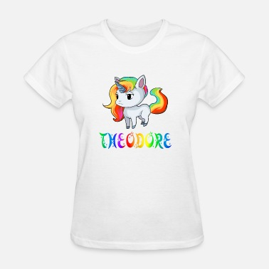 Theodor Theodore Unicorn - Women's T-Shirt