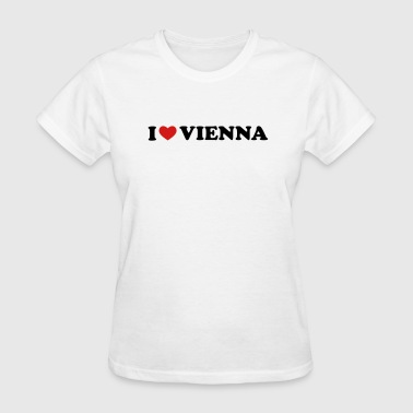 I Love Vienna - Women's T-Shirt