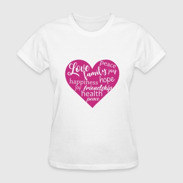 Love Family - Women's T-Shirt