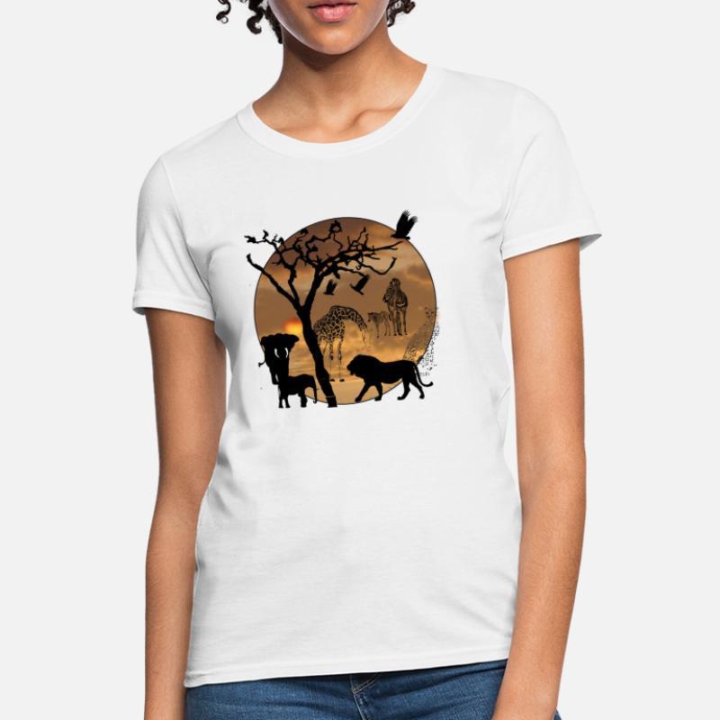 256d875c Shop Safari T-Shirts online   Spreadshirt