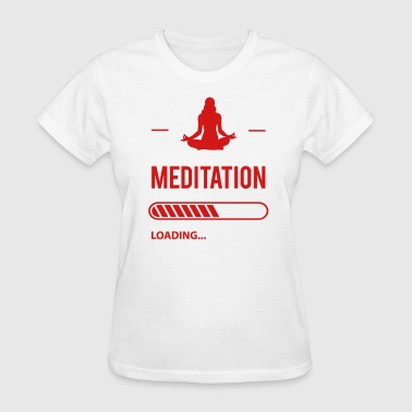 Shiva Meditation Loading - Women's T-Shirt
