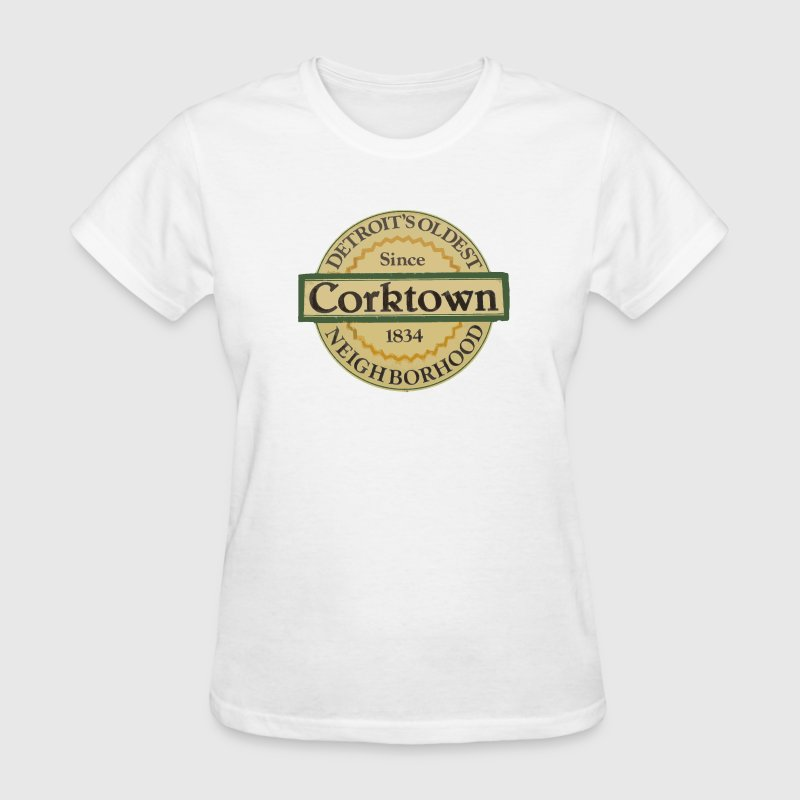 Corktown Detroit Irish Neighborhood - Women's T-Shirt