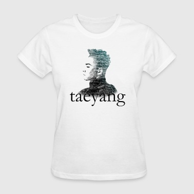 Big Bang - Taeyang Typography - Women's T-Shirt