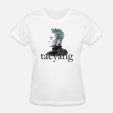 Typography Korean Big Bang - Taeyang Typography - Women's T-Shirt