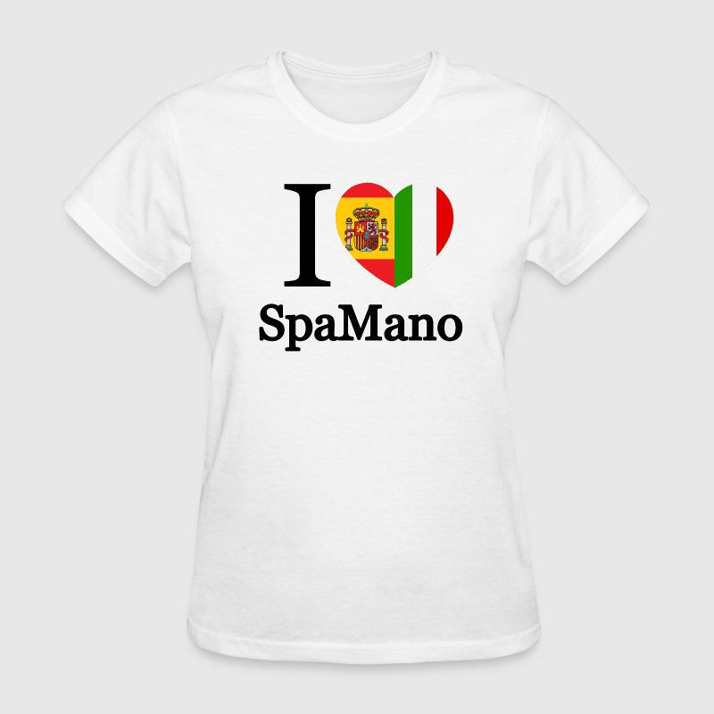 i_love_spamano_tshirt - Women's T-Shirt