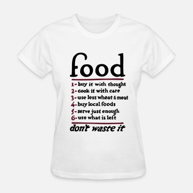 Service Food  - Women's T-Shirt