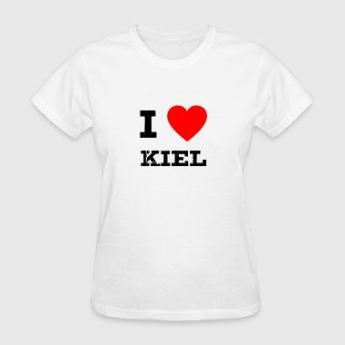 Kiel i love Kiel - Women's T-Shirt