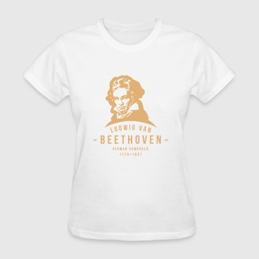 Ludwig van Beethoven, Classical, Music - Women's T-Shirt